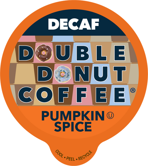 Decaf Pumpkin Spice Flavored Coffee by Double Donut