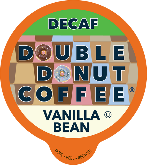 Decaf Vanilla Bean Flavored Coffee by Double Donut