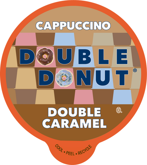 Double Caramel Cappuccino by Double Donut