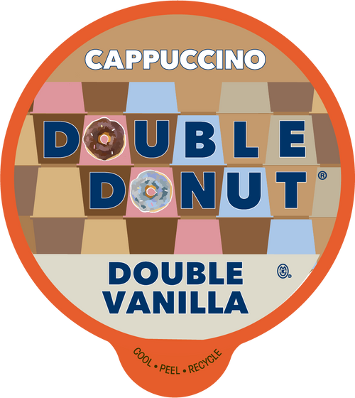 Double Vanilla Cappuccino by Double Donut