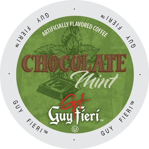 Guy Fieri Chocolate Mint Coffee, Keurig-compatible