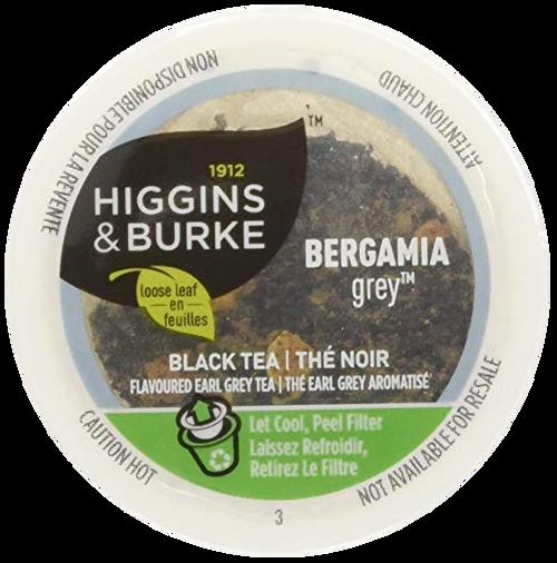 BERGAMIA GREY LEAF Tea by Higgins & Burke