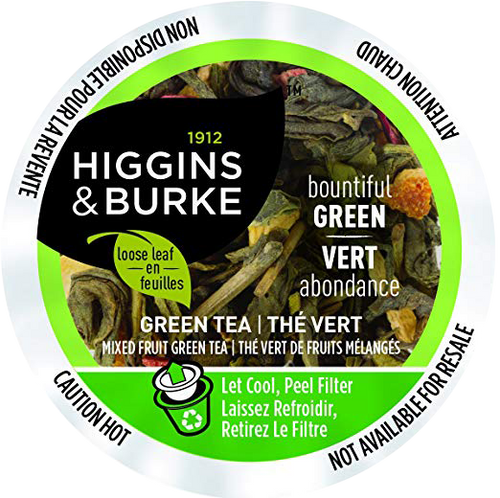 BOUNTIFUL GREEN Tea by Higgins & Burke
