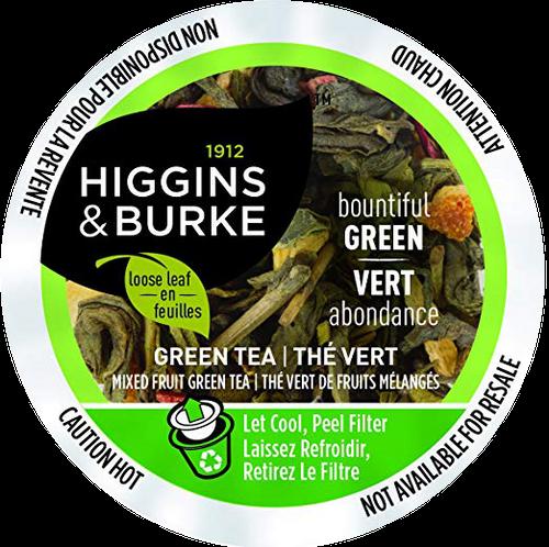 BOUNTIFUL GREEN Tea by Higgins & Burke