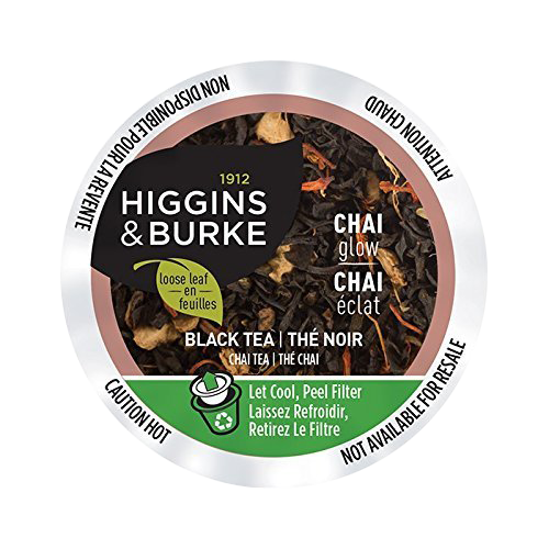 CHAI GLOW Tea by Higgins & Burke