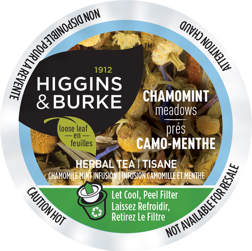 CHAMOMINT MEADOWS Tea by Higgins & Burke