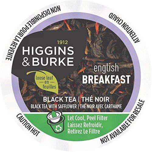 ENGLISH BREAKFAST Tea by Higgins & Burke