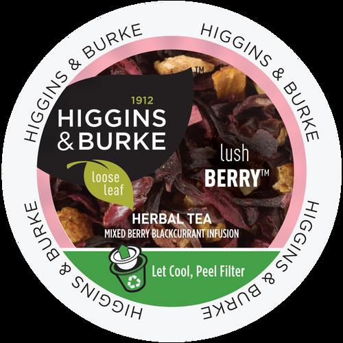 LUSH BERRY LEAF Tea by Higgins & Burke