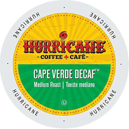Cape Verde Decaf Medium Roast Coffee by Hurricane