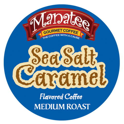 Sea Salt Caramel Flavor Coffee by Manatee