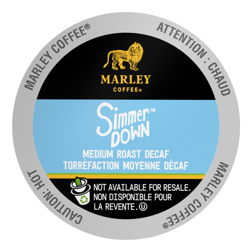 SIMMER DOWN Decaf Coffee by Marley Coffee