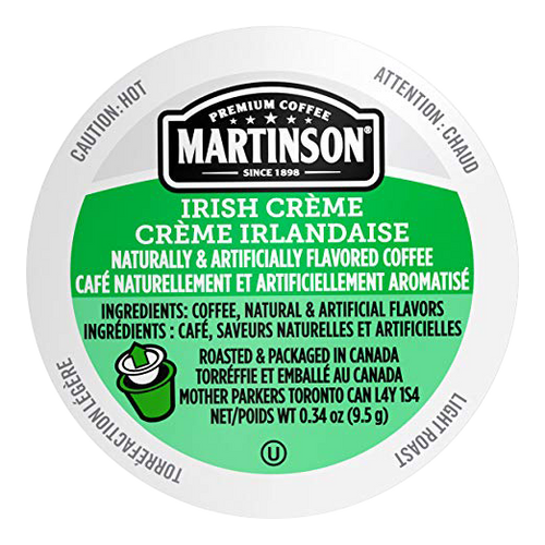 Irish Cream Flavored Coffee by Martinson