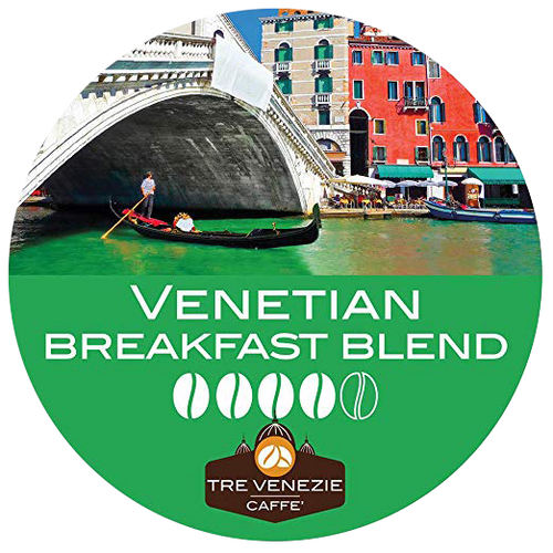 Venetian Breakfast Blend Coffee by Tre Venezie Caffe