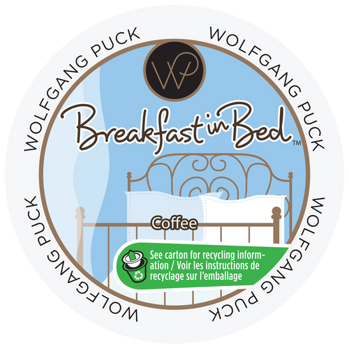 Breakfast In Bed Coffee by Wolfgang Puck