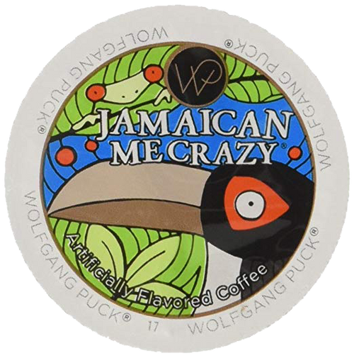 Jamaican Me Crazy Flavored Coffee by Wolfgang Puck