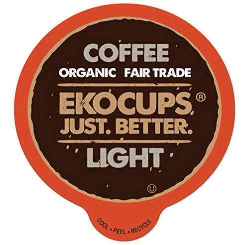 Light Organic Coffee by EKOCUPS