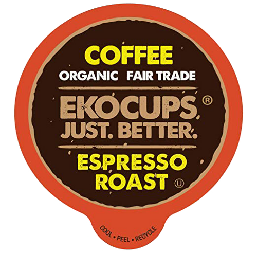 Espresso Roast Organic Coffee by EKOCUPS