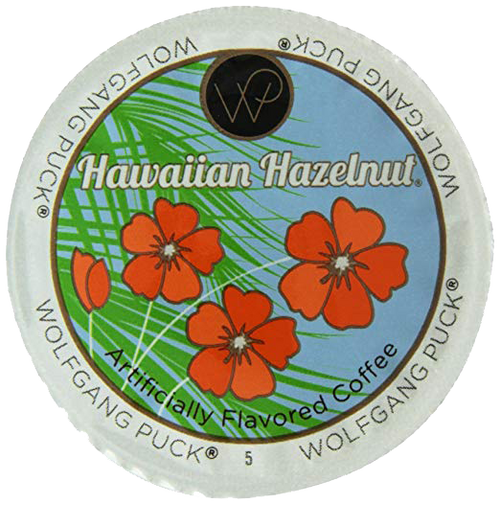Hawaiian Hazelnut Flavored Coffee by Wolfgang Puck