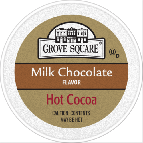 Grove Square Milk Chocolate Hot Cocoa Single Serve cups