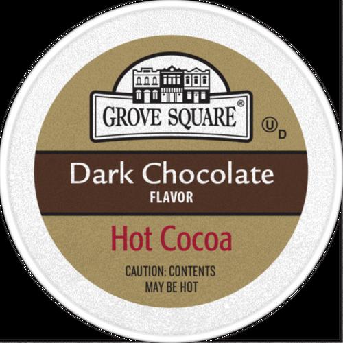Grove Square Hot Cocoa Dark Chocolate Single Serve cups