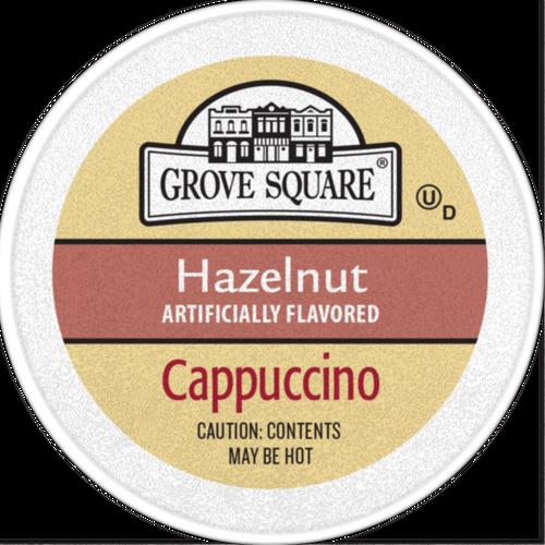 Grove Square Hazelnut Cappuccino Single Serve cups