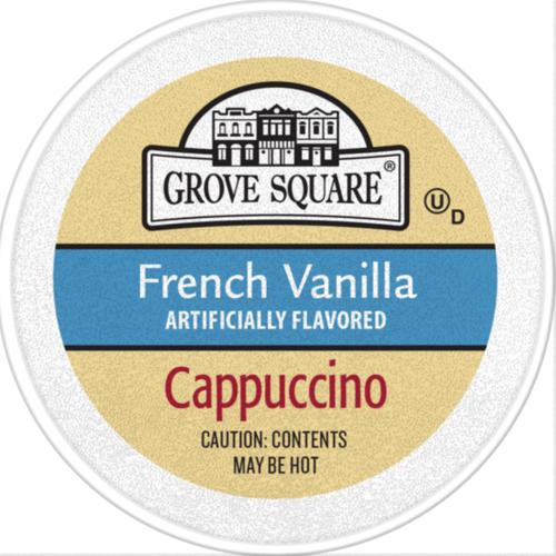 Grove Square French Vanilla Cappuccino Single Serve cups