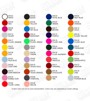 Siser Heat Transfer Vinyl Products | Lowest pricing for