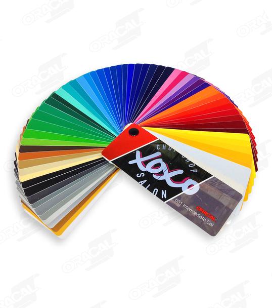 Orafol 651 Color Fan