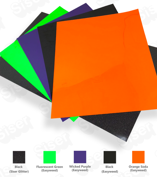 Halloween Party Pack - 5 Piece Solid Colors