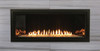 "White Mountain Hearth VFLB36FP30 36"" Boulevard Contemporary Vent Free Linear Fireplace with Millivolt Burner, Choice of Fuel Type"