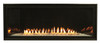 Empire VFLB36FP30 Boulevard Contemporary Vent Free Linear Fireplace with Millivolt Burner, Choice of Fuel Type