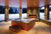 Amantii Panorama Deep Built-In Indoor/Outdoor Electric Fireplace with Log Set and Fire & Ice Media - Choice of Size