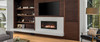 "White Mountain Hearth DVLL48BP92 48"" Boulevard Contemporary Zero Clearance Direct Vent Fireplace - Choice of Fuel"