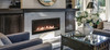 """White Mountain Hearth DVLL48BP92 48"""" Boulevard Contemporary Zero Clearance Direct Vent Fireplace - Choice of Fuel"""