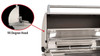 "Fire Magic A430i-8EAP Aurora 24"" Built-In Gas Grill with Backburner and Rotisserie Kit - Liquid Propane"