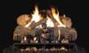 RH Peterson Real-Fyre Charred Angel Oak Log Set - G31 Burner with Choice of Valve Kit