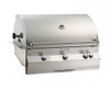 """Fire Magic A790i-8EAN Aurora 36"""" Built-In Gas Grill with Backburner and Rotisserie - Natural Gas"""