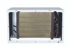GE AJEQ12DCH 12000 BTU Thru-the-Wall Room Air Conditioner with Electric Heat - 208/230 Volt