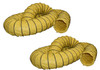 """Kwikool KK-DUCT12Y-25 25 Foot Long 12"""" Duct for 5 and 12 Ton Units"""