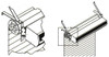 """Mars B0009 16"""" Clearance Drum-Roll-Style Extended Offset Mounting Bracket"""