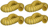 "Kwikool KK-DUCT12Y-25-4 Set of Four 25 Foot Long 12"" Ducts for 12 Ton Units"