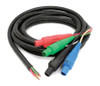 Kwikool CAMLOCK4-4 4-Wire Electrical Connections with 25 Ft SO Cable
