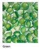 """Superior GP43G 6 Pound Bag of Green Smooth Pebbles for 43"""" Linear Fireplace"""