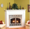 "White Mountain Hearth EMBF1SW 32"" Standard Mantel in White"