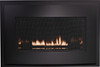 White Mountain Hearth DFB33RBL Eclipse Decorative Front with Barrier Screen - Matte Black