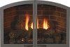 "White Mountain Hearth VFR32SCHP 32"" Arch Doors for Breckenridge 32 in Hammered Pewter"