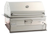 "Fire Magic 12-SC01C-A Legacy 24"" Built-In Charcoal Grill/Smoker"