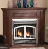 "White Mountain Hearth VFR32SMHP 32"" Mission Arch Doors for Breckenridge Deluxe 32 in Hammered Pewter"