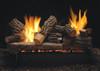 """White Mountain Hearth LSU-18RR 18"""" Rock Creek Log Set"""