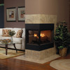 """White Mountain Hearth LSU-24SF 24"""" Stone River Replacement Logs for Vent Free Vista See-Through Burners (LOGS ONLY)"""